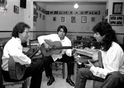 Caballeros Flamencos MELCHOR MANZANITA TOMATITO