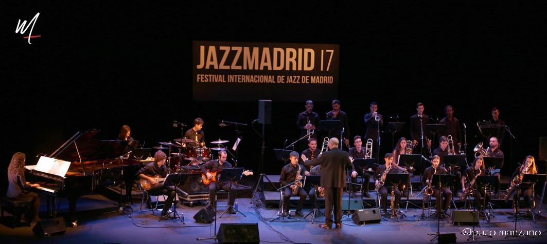 La Big Band de Arturo Soria en JAZZMADRID17