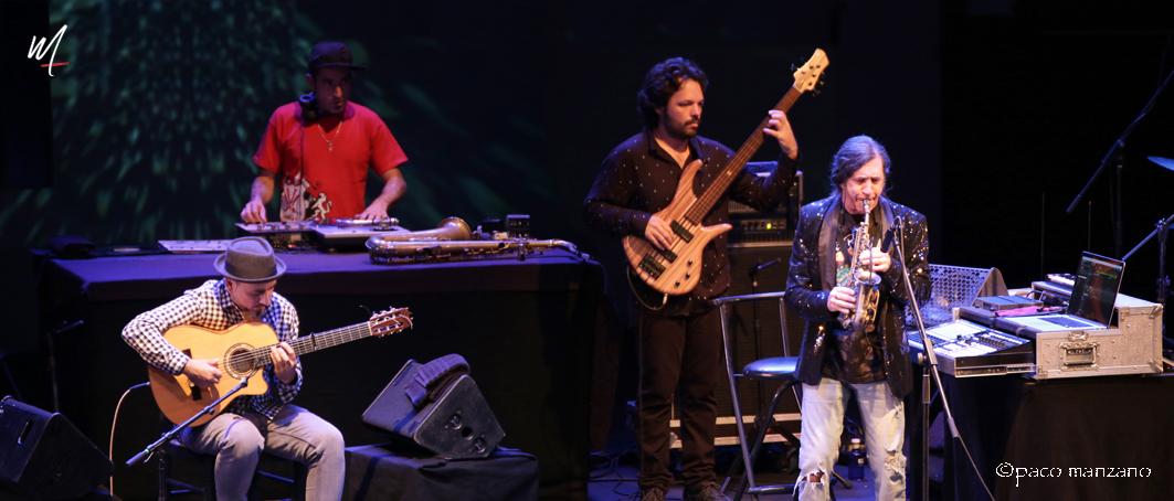 """Jorge Pardo """"Djinn"""" cierra JAZZMADRID17"""
