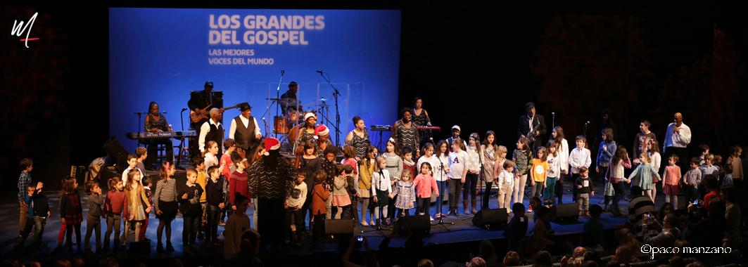 Finaliza el XXIII  Festival los Grandes del Gospel Madrid 2017
