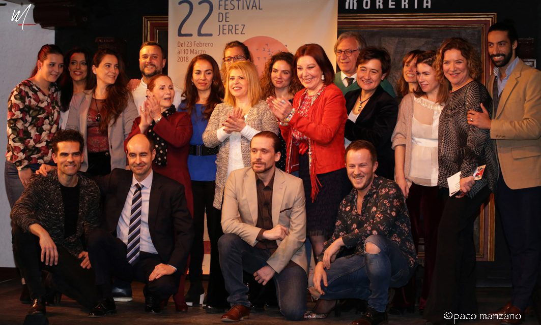 El XXII Festival de Jerez presentado en El Corral de la Morería de Madrid