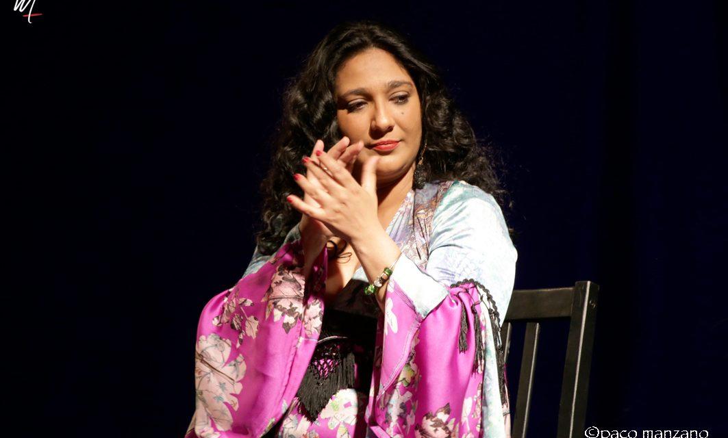 Anabel Valencia en el Pozo del Flamenco