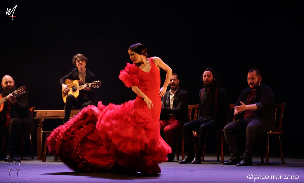 Olga Pericet en los Teatros del Canal de Madrid.