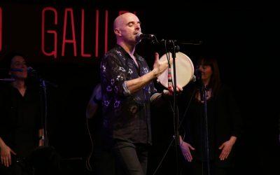 """Xabier Díaz y Adufeiras de Salitre presentan """"Noró"""" en la sala Galileo de Madrid."""