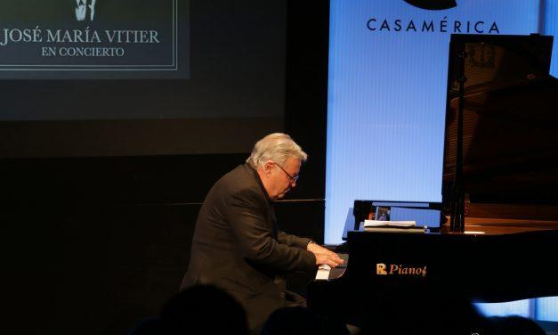 """José María Vitier  presenta """"MÚSICA Y SILENCIO""""."""