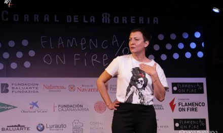 V FLAMENCO ON FIRE en el Corral de la Morería.