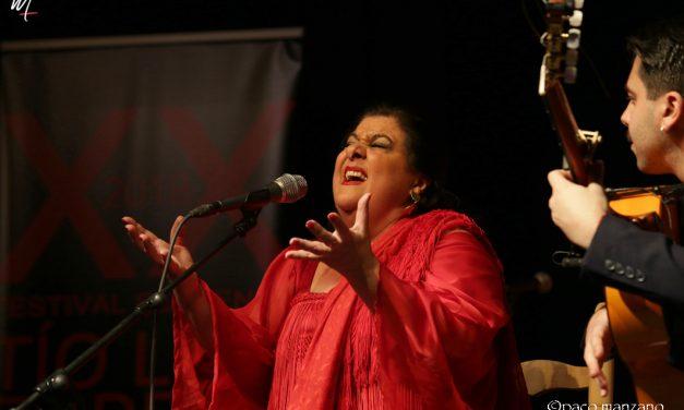 Chelo Pantoja  abre el XX Festival Flamenco Tío Luis de la Juliana.