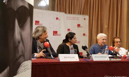 """Balbino Gutiérrez presentó """"Enrique Morente. La voz libre""""."""