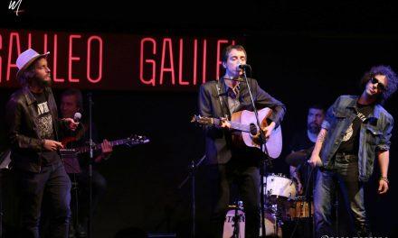 Alberto Ballesteros presentó su nuevo disco «La Canción del Jinete Eléctrico» en la Sala Galileo