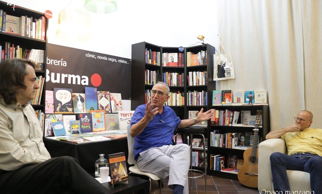 """Presentación de """"Viaje a Fardelia"""" de Pedro Charro Ayestarán en la Libreria Burma de Madrid"""