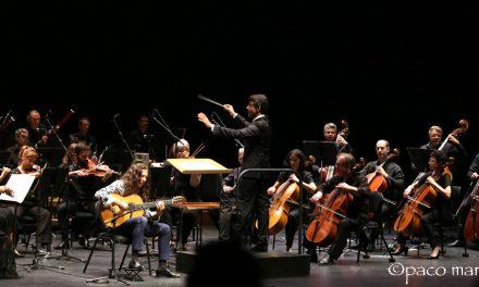 Tomatito y la Orquesta Sinfónica de Navarra en el festival Flamenco On Fire.