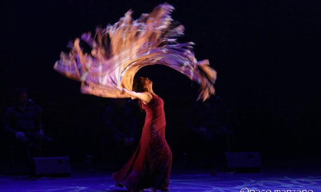 Eva Yerbabuena en el festival Flamenco On Fire