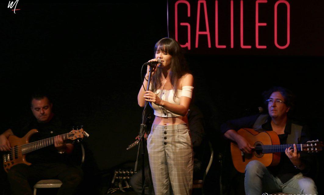 Elena Salguero invitada de Oscar Gallardo en la Sala Galileo de Madrid.