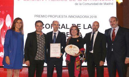La Academia Madrileña de Gastronomía premia al Corral de la Morería.