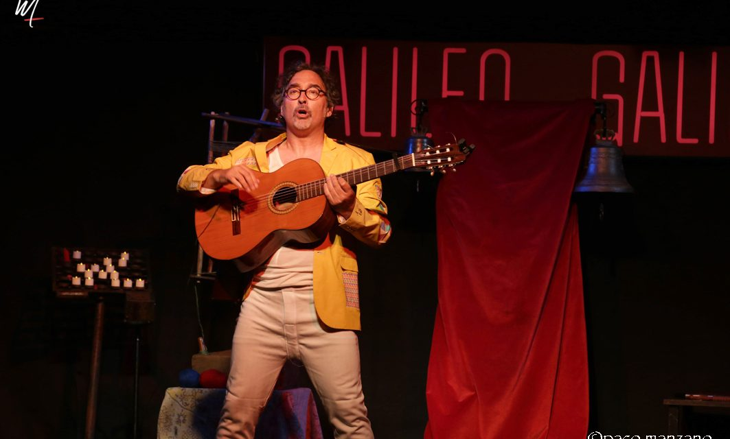 Gabriel Calvo,Trovadores y Juglares en la Sala Galileo Galilei de Madrid.