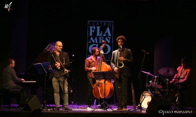 Pablo Martín Caminero en los Lunes Flamencos del Teatro Flamenco Madrid.