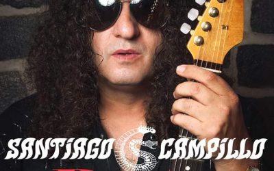 Santiago Campillo concierto en la sala Boite Live de Madrid.