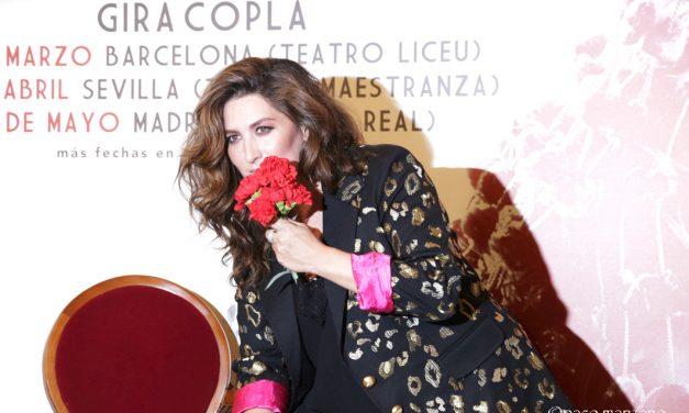 """Estrella Morente presenta  """"COPLA""""  en el Teatro Real de Madrid."""