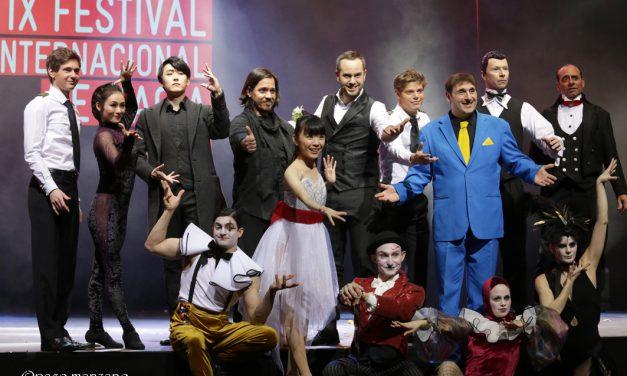 Reconocimiento a Juan Tamariz en el IX Festival Internacional de Magia de Madrid.