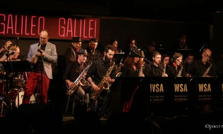 La WSA Big Band presenta su primer disco en la Sala Galileo de Madrid.