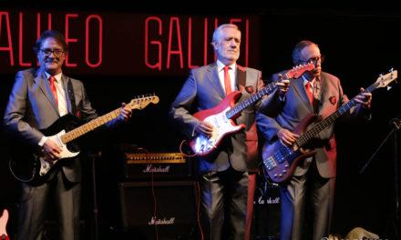 """Los Relámpagos presentan """"Reflejos de copla"""" en la sala Galileo de Madrid."""