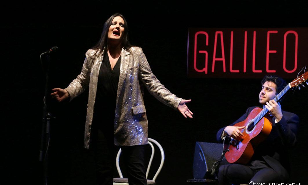María Mezcle y Andrea Salcedo en la sala Galileo con Ellas Crean