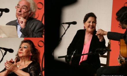 María Vargas, Carmen Linares en el XXI Festival Flamenco Tío Luis el de la Juliana.