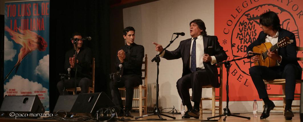 Vicente Soto Sordera cierra el XXI Festival Flamenco Tío Luis el de la Juliana