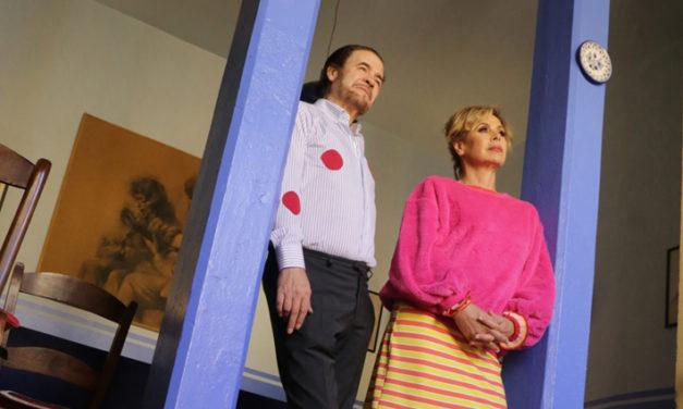 """Agatha Ruiz de la Prada se traslada al Teatro de la Latina para acompañar a Tito Losada en el espectáculo """"Mucho Arte, un flamenco diferente""""."""