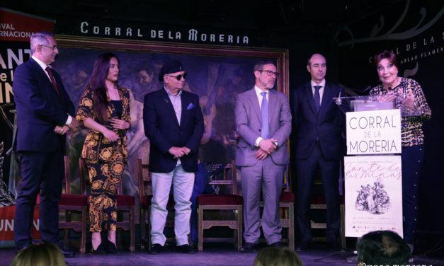 La LIX Edición del Festival Internacional del Cante de las Minas presentada en el Corral de la Morería de Madrid.