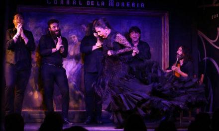 Vanesa Coloma, Mercedes de Cordoba, Alfonso Losa en el Corral de la Morería de Madrid.