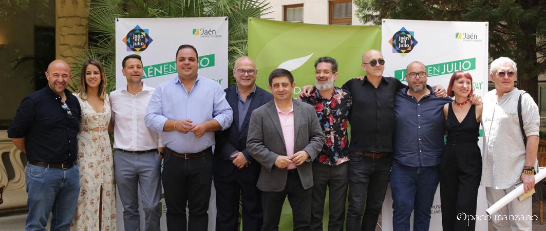 'Jaén en julio' presentó su programación en la sede de SGAE de Madrid.
