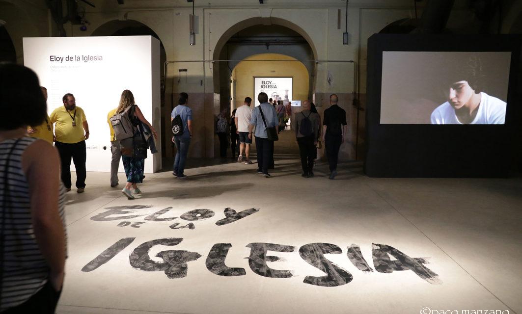 Eloy de la Iglesia. Oscuro objeto de deseo, en la sala de exposiciones Tabacalera de Madrid.
