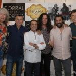 José Mercé y Tomatito presentan 'De verdad' en el Corral de la Morería de Madrid.