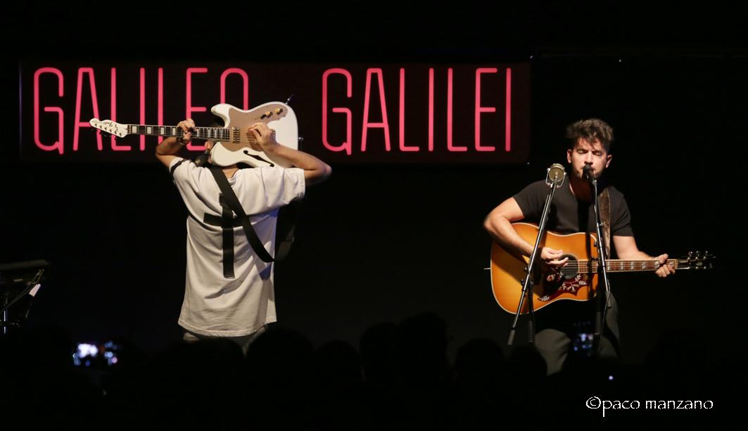 "Siloé presenta su disco ""La luz"" en la sala Galileo de Madrid."