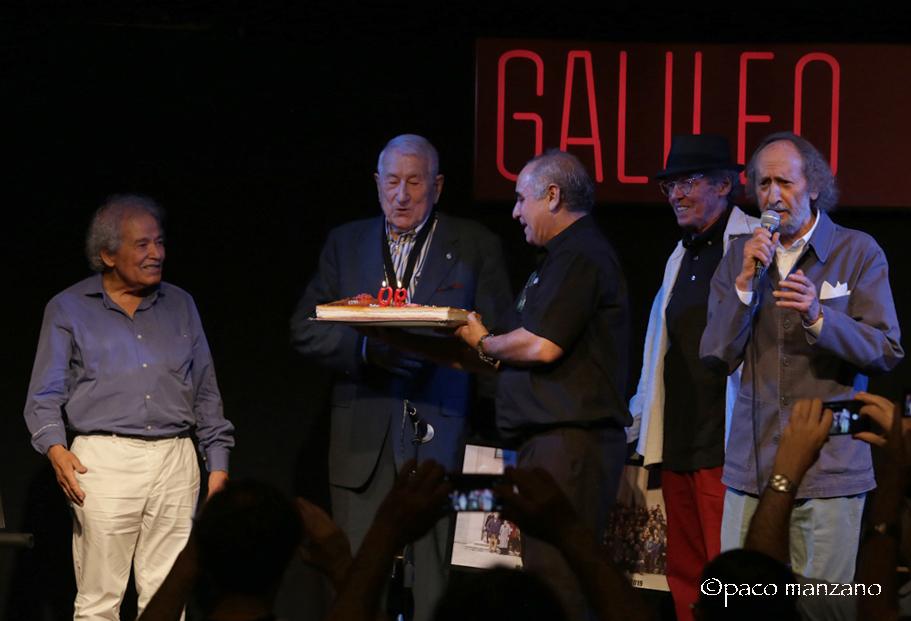 PEDRO ITURRALDE celebra su 90 aniversario en la sala Galileo de Madrid.