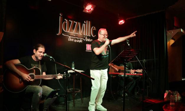 Gran noche con Pedro Reinares en el Jazzville de Madrid.