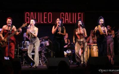 Anacona en la sala Galileo de Madrid.