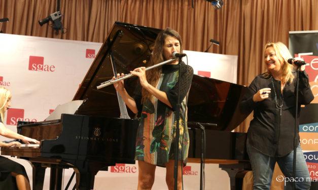 FeminaJazz presentado en la sala Manuel de Falla de SGAE Madrid.