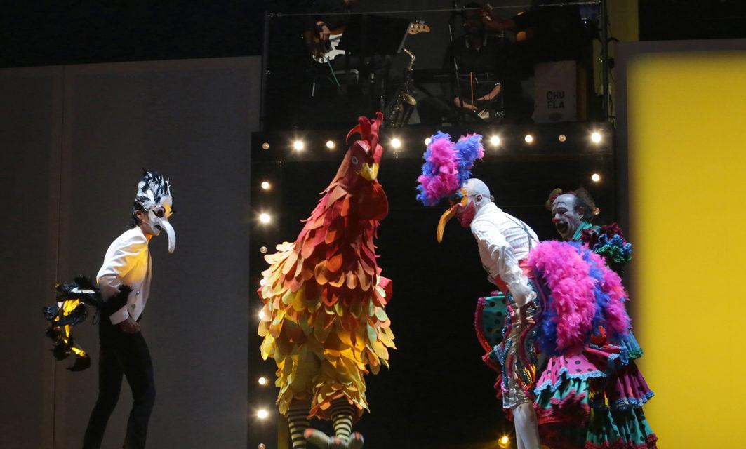 'Chufla',¡No es flamenco, no es Circo!, en Teatro Circo Price de Madrid.
