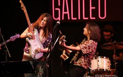 Esther Zecco concierto en la sala Galileo de Madrid.