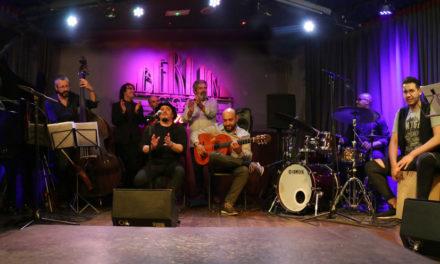 """PEDRO OJESTO & FLAMENCO JAZZ COMPANY presenta""""KILÓMETRO 0"""" en el Café Berlín de Madrid."""
