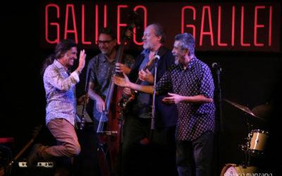 Homenaje al Bogui Jazz en la sala Galileo de Madrid.