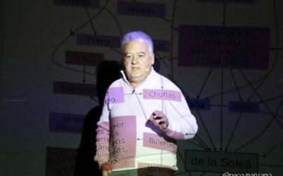 """Faustino Núñez presentó """"Comprende el Flamenco"""" en el Teatro Flamenco Madrid."""