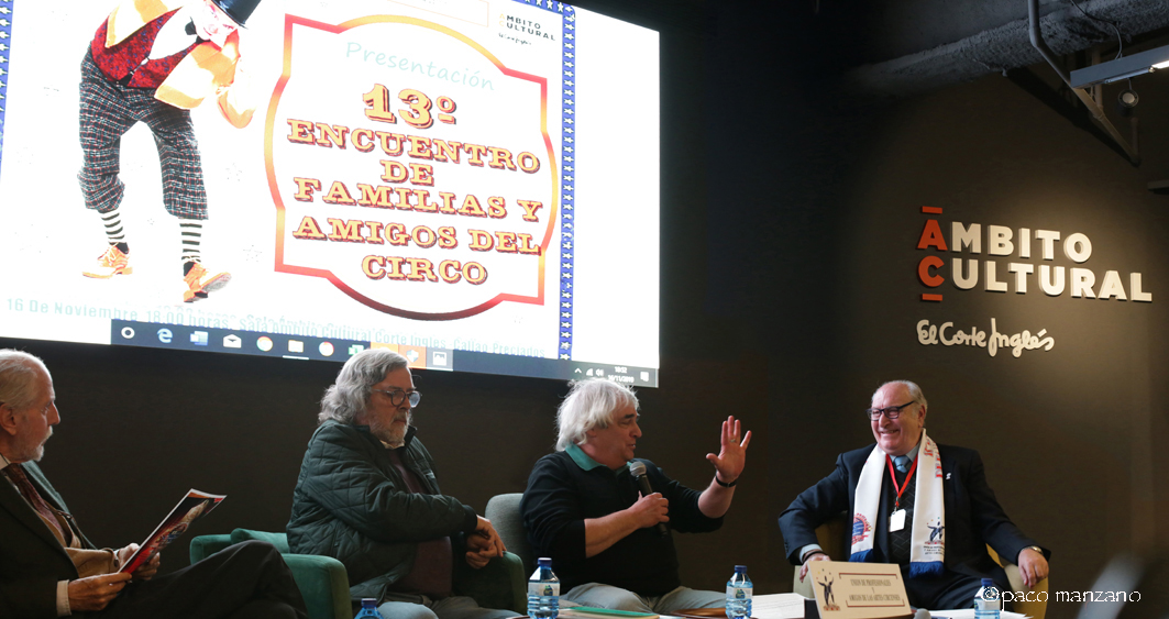 EL 13º ENCUENTRO DE FAMILIAS Y AMIGOS DEL CIRCO presenta sus actividades.