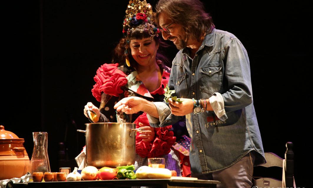 Maui y Antonio Carmona en los domingos de Vermú y Potaje. Teatro Flamenco Madrid.