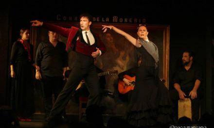 El baile de Ángel Muñoz, Charo Espino en el Corral de la Moreria.
