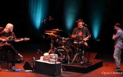 Jorge Pardo, Carles Benavent, Tino di Geraldo en el Festival JAZZMADRID19.