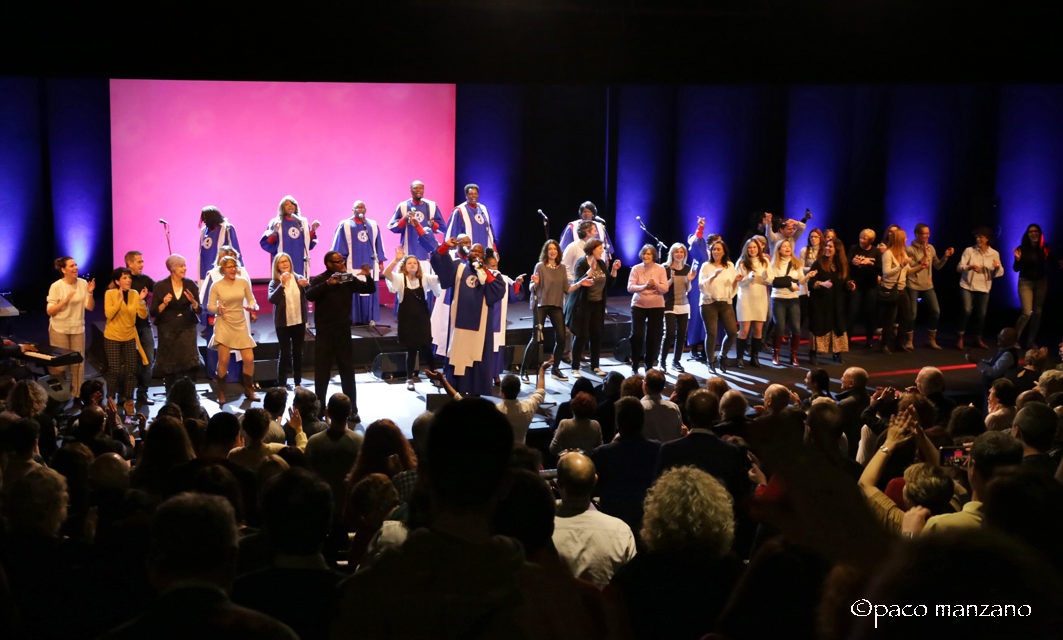 The Mississippi Mass Choir y Living Water en Festival Grandes del Gospel de Madrid.
