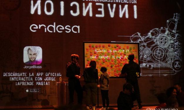 """Jorge Blass sigue con su exitosa """"Invención"""" en el Teatro Marquina de Madrid."""